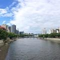 Photos: 東広島橋から柳橋方向 広島市中区西平塚町 - 広島市南区稲荷町 2016年8月30日