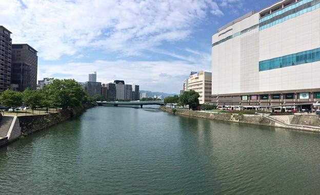 駅前大橋から駅西高架橋方向 広島市南区京橋町 - 松原町 2016年9月6日
