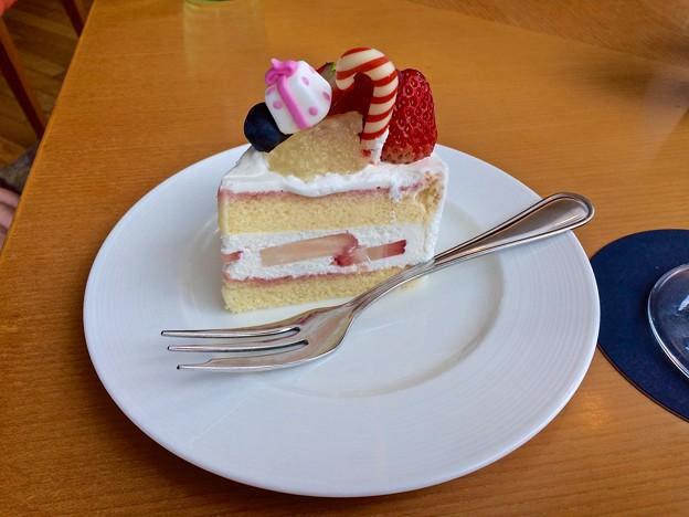 Photos: ショートケーキ shortcake 広島市東区若草町 シェラトンホテル広島 ロビーラウンジ 2016年12月25日