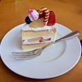 ショートケーキ shortcake 広島市東区若草町 シェラトンホテル広島 ロビーラウンジ 2016年12月25日