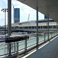 広島駅 新幹線口 二葉の里方面ペデストリアンデッキ 広島市南区松原町 2016年9月9日