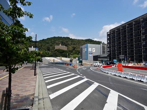 広島高速5号線 広島駅北口インターチェンジ 仮称 工事 広島市東区二葉の里3丁目 2016年9月9日