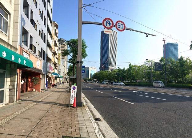 広島市南区的場町2丁目 比治山通り 2016年6月10日