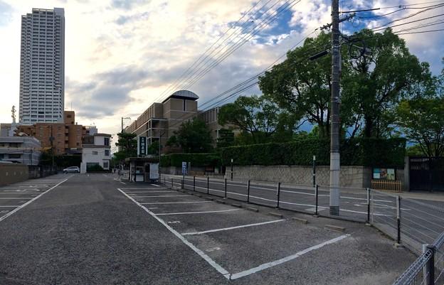 縮景園 駐車場 広島市中区上幟町 2016年8月24日