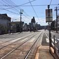 広島電鉄 皆実線 比治山線 皆実町二丁目電停 広島市南区皆実町1丁目 国道487号