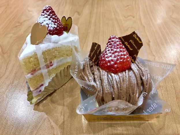 patisserie an パティスリーアン layer cake mont blanc 広島市東区中山南1丁目