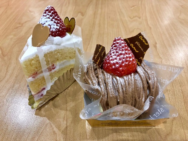 patisserie an パティスリーアン layer cake mont blanc 広島市東区中山南1丁目