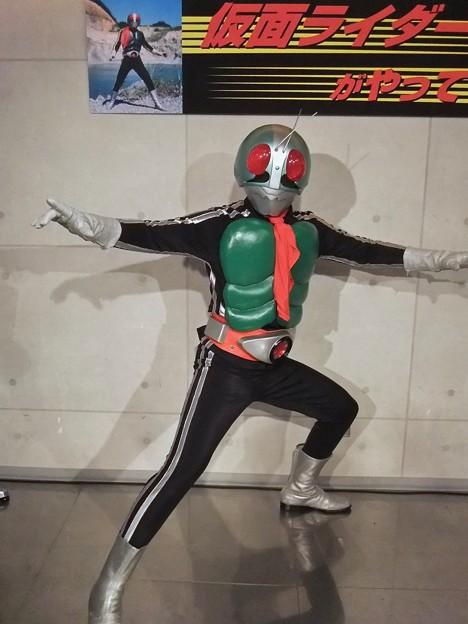 仮面ライダー1号 Kamen Rider Takeshi hongo 広島市中区紙屋町2丁目 サンモール 2012年6月24日