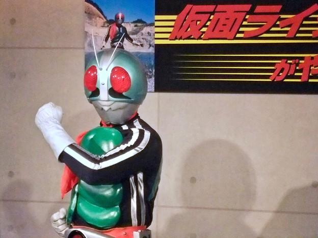 仮面ライダー1号 Kamen Rider 広島市中区紙屋町2丁目 サンモール 2012年6月24日