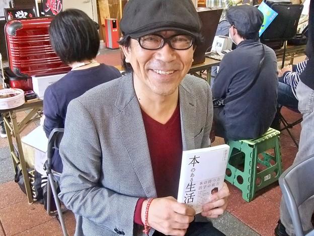 財津正人さん ブックスひろしま 一箱古本市 広島市西区横川町3丁目 2011年11月6日