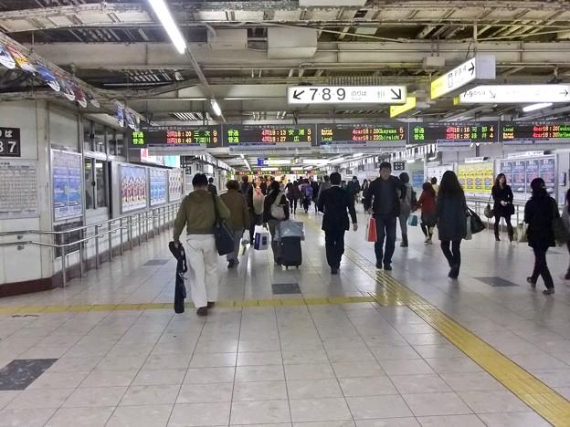 広島駅 跨線橋 広島市南区松原町 2011年11月20日