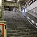 Photos: 広島駅 在来線1番ホーム 階段 地下道 広島市南区松原町 2011年11月6日