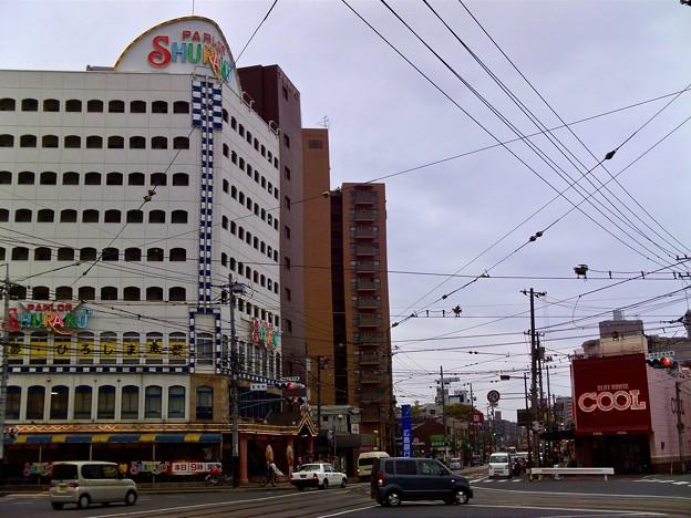 宇品通り 皆実町交差点 広島市南区皆実町5丁目6丁目 2011年5月6日