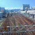 愛宕跨線橋から広島駅 広島市南区松原町 2010年9月3日