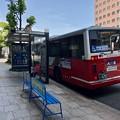 写真: 稲荷町 バス停 広島市南区稲荷町 相生通り 2018年5月25日