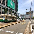 写真: 広島電鉄 猿猴橋町電停 広島市南区猿猴橋町 2018年5月25日