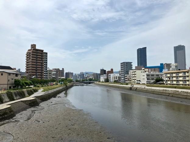 広島市南区段原4丁目 - 西蟹屋4丁目 猿猴川 2018年5月27日