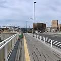 平和橋からマツダスタジアム方向 広島市南区段原4丁目 - 西蟹屋4丁目 2018年5月27日