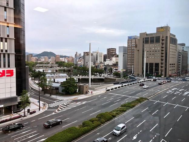 駅前大橋 広島市南区松原町 駅前通り 2018年5月27日