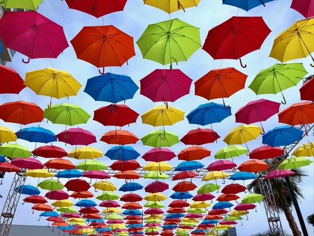 マツダスタジアム10週年イベント 傘まつり 広島市南区西蟹屋2丁目 2018年5月27日