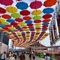 Photos: MAZDA Zoom-Zoom stadium Hiroshima マツダスタジアム10週年イベント umbrella sky project 広島市南区西蟹屋2丁目 2018年5月27日