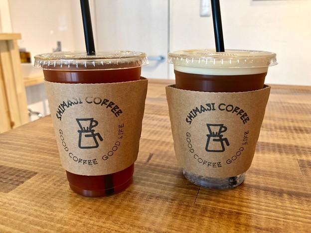 shimaji coffee roasters アイスコーヒー シェケラートトニック drip coffee iced Ethiopia shakerato tonic 広島市南区的場町1丁目