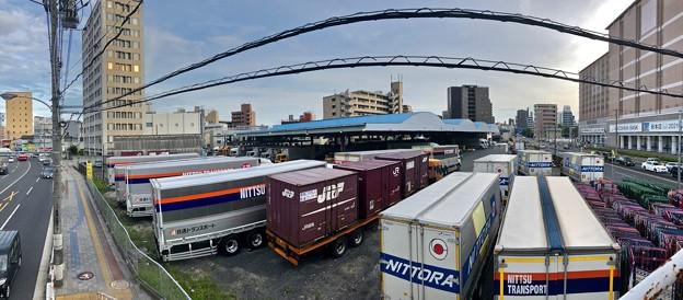 日通広島ターミナル跡 ケーズデンキ出店予定地 広島市南区西蟹屋4丁目 2018年7月2日