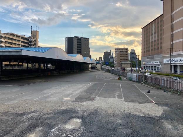 日通広島ターミナル跡地 ケーズデンキ出店予定地 広島市南区西蟹屋4丁目 2018年8月27日