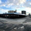 写真: 日通広島ターミナル跡地 ケーズデンキ出店予定地 広島市南区西蟹屋4丁目 大州通り 2018年8月27日