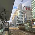 広島電鉄 紙屋町東電停 2019年12月3日15時03分ごろ