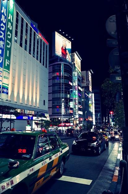 街の風景 夜