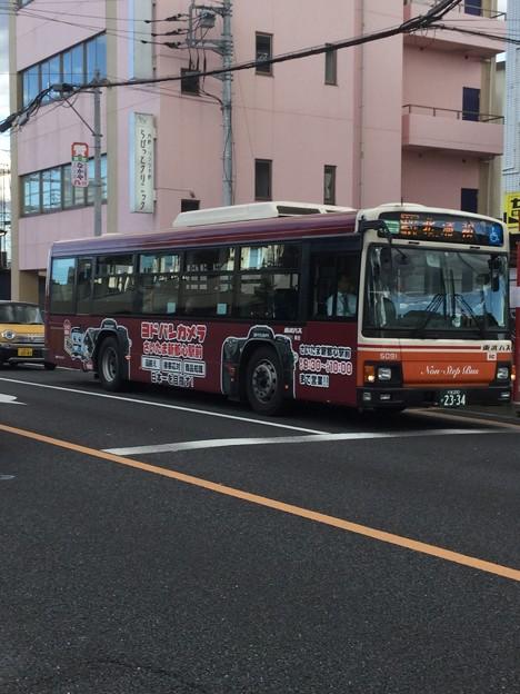東武バス-5091号車 浦31 北浦和行き