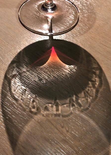 写真: お誕生日の赤ワイン。。。