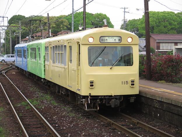 カラフルになろう!@近畿日本鉄道内部線日永駅