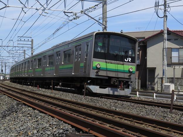 クラH8編成、回送。@東北本線蓮田駅~白岡駅
