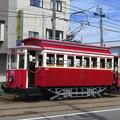 箱館ハイカラ號台車周りは一世紀物。
