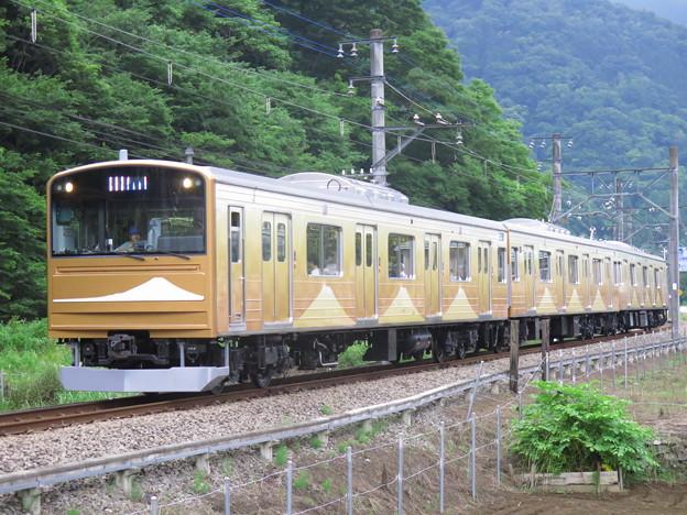 富士急行90周年記念、金富士。