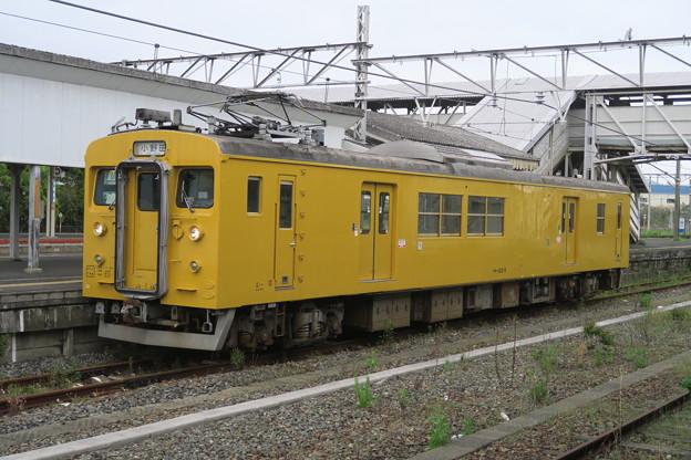 まっ黄色、扉は移設、123、便所増設で、窓は少なめ。