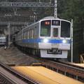 トンネルから鉄橋にこんにちは。