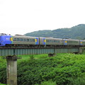鉄橋渡るHET道北