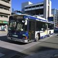 たまたまやってきたバス