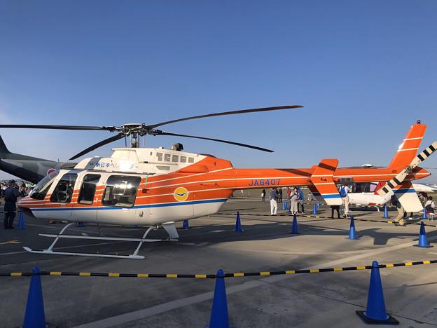 JA6407 新日本ヘリコプター ベル407 IMG_1354_2