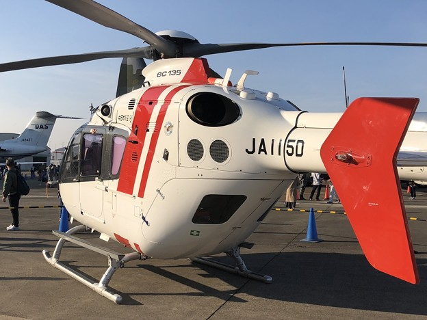 JA115D 中日本航空 ユーロコプター EC135P2 IMG_1349