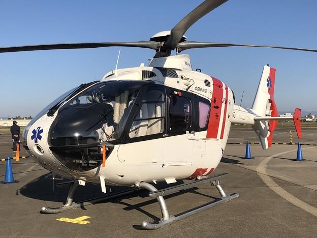 JA115D 中日本航空 ユーロコプター EC135P2 IMG_1345