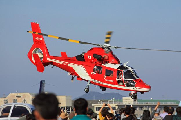 JA08AR 名古屋市消防航空隊 ひでよし エアバス・ヘリコプターズ AS365N3 Dauphin 2  IMG_8241_2