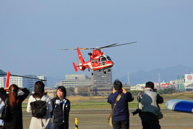 JA08AR 名古屋市消防航空隊 ひでよし エアバス・ヘリコプターズ AS365N3 Dauphin 2  IMG_8234_2