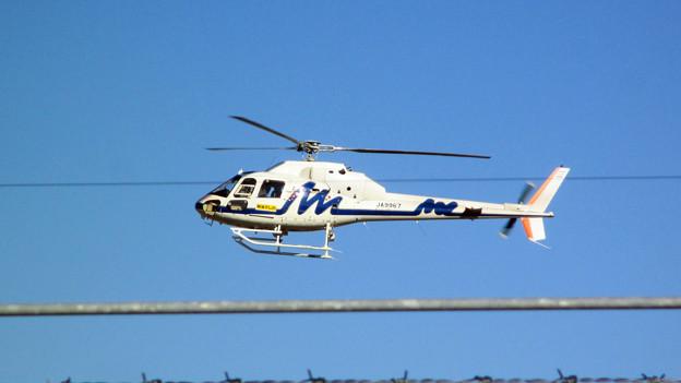 中日本航空 JA9967 アエロスパシアルAS355 IMG_0010_2