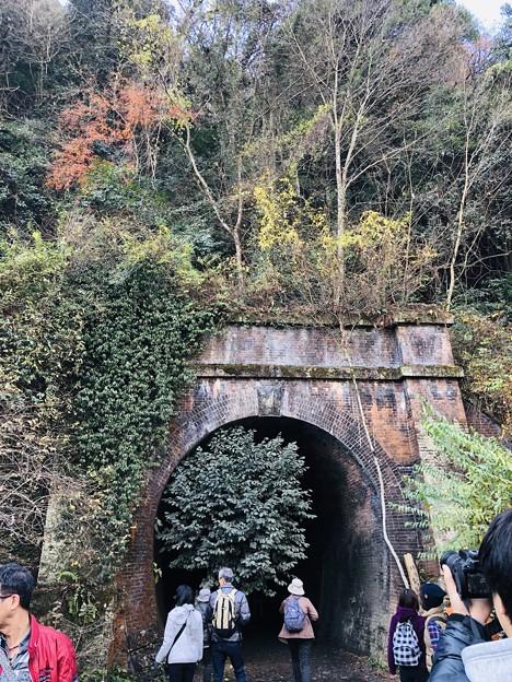 愛岐トンネル 秋の特別公開 鉄道遺構 IMG_E1519