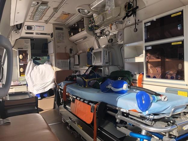 西春日井二市一町合同出初式 救急車展示 IMG_2087