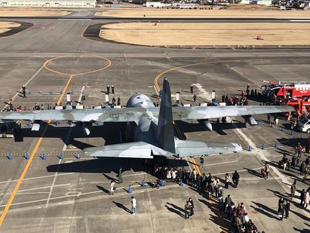 航空自衛隊 第1輸送航空隊 第401飛行隊 C-130H 95-1083 IMG_2059